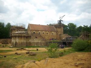 012 chantier du chateau de Guedelon